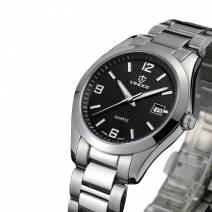 Đồng hồ nam máy Quartz VINOCE V8380-03 mặt tròn tinh xảo