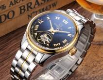 Đồng hồ đeo tay nam chính hãng CARNIVAL 660G-03 máy cơ cao cấp