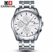 Đồng hồ nam chính hãng CARNIVAL 8659G-02 máy cơ Nhật Bản