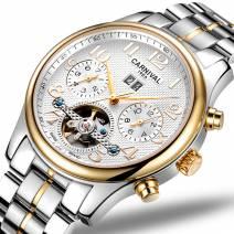 Đồng hồ nam chính hãng CARNIVAL 8670G-03 dòng máy Automatic đẳng cấp