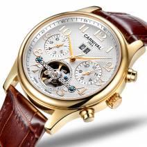 Đồng hồ đeo tay nam chính hãng CARNIVAL 8670G-01 lộ máy cơ tinh tế