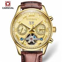 Đồng hồ nam cao cấp chính hãng CARNIVAL 8728G-05 dòng máy cơ Nhật Bản đẳng cấp