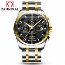 Đồng Hồ Nam Cao Cấp Carnival 8659G-05 Máy Cơ Chuẩn Xác