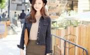 Cách mặc áo khoác Jean nữ đẹp hot nhất 2016