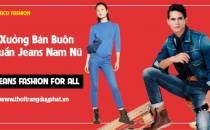 Xưởng bỏ sỉ quần Jean hàng đầu tại Hà Nội