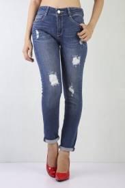 Quần Jeans Nữ BF41 Đậm trung