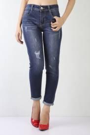 Quần Nữ Jeans BL A20 - Đậm