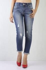 Quần Jeans Nữ BL A23 - Đậm trung