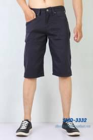 Quần Shorts Kaki Nam XK SMD 3332 màu đen