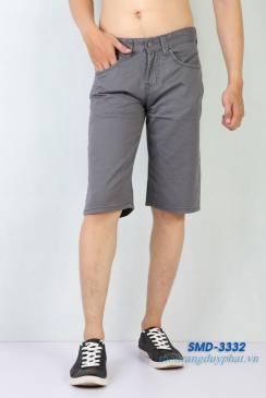 Quần Shorts Kaki Nam XK SMD 3332 màu xám
