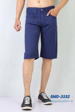 Quần Shorts Kaki Nam XK SMD 3332 màu xanh dương