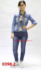 Quần Jeans Nữ 398.2