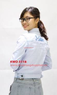 Áo khoác jean nữ KWD 3118