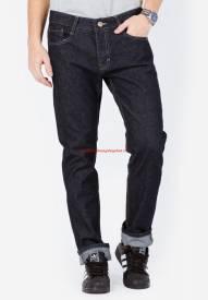Quần jeans nam ống côn màu đen Duy Phát