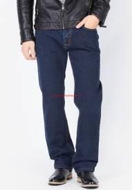 Quần jeans nam Duy Phát màu xanh navy đậm