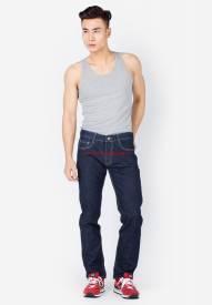 Quần jeans nam Duy Phát màu xanh đen