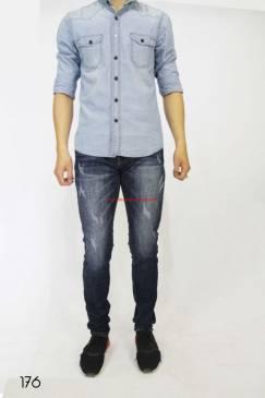 Quần Jeans Nam Duy Phát 176