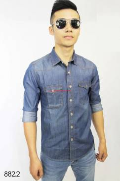 Áo sơ mi jeans Nam Duy Phát 8822