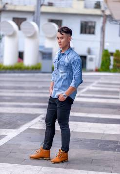 Men's shirts Denim 204