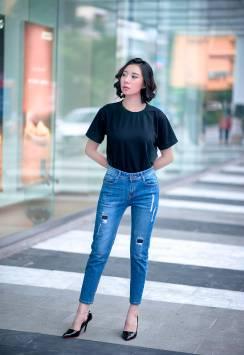 Quần Jeans nữ 097.3