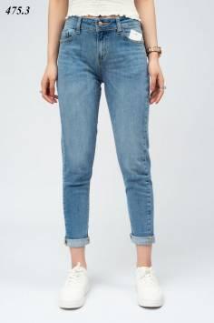Quần Jeans nữ Boyfriend mài trơn 475.3