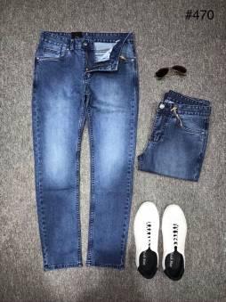 Quần Jeans Nam Dài RockStar 470