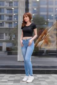 Quần Jeans Nữ Moza 395