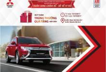 Chiến dịch dịch vụ tháng 3 của Mitsubishi AMC. Giảm đến 20% chi phí sửa chữa, bảo dưỡng
