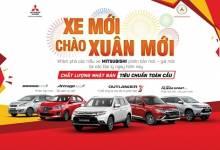 Chào Xuân Mới - Mitsubishi Ưu Đãi Lớn Trong Tháng 1 Năm 2018