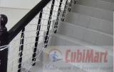 Lưới chắn cầu thang sợi xốp trắng