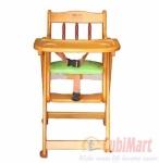 Ghế ăn bột veesano cho bé bằng gỗ