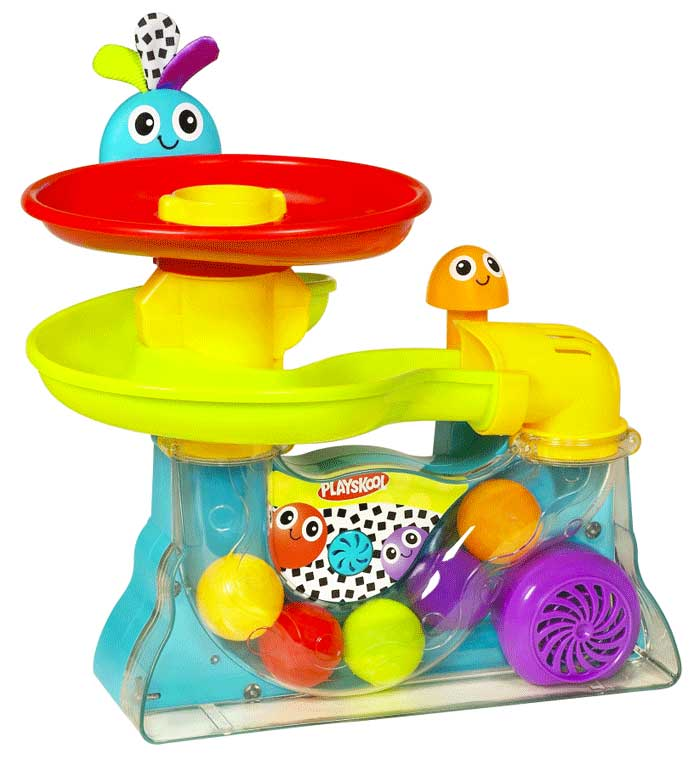 Bóng nhạc Playskool Playskool Explore 'N Grow Busy Ball Popper