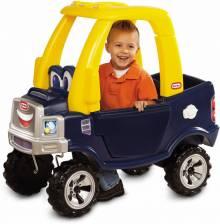 Xe chòi chân trẻ em Little Tikes Pick up xanh