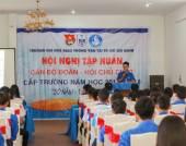 Hội nghị tổng kết công tác Đoàn_Hội năm học 2016_2017 và Tập huấn cán bộ chủ chốt năm học 2017_2018