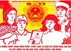 Tổ chức sinh hoạt, tuyên truyền hưởng ứng Ngày pháp luật Việt Nam năm 2015