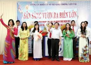 """Trường Đại học Giao thông vận tải Thành phố Hồ Chí Minh: """"Sẵn sàng vươn ra biển lớn"""""""