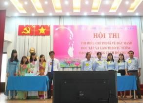 Đội tuyển của Đảng bộ Trường đạt giải cao nhất Hội thi tìm hiểu Chỉ thị số 05 của Bộ Chính trị