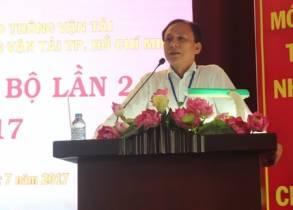 Đảng bộ Trường ĐH Giao thông vận tải TP.Hồ Chí Minh tổ chức Hội nghị Đảng bộ lần 2 năm 2017