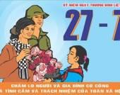 Đề cương Tuyên truyền kỷ niệm 70 năm Ngày Thương binh Liệt sỹ (27/7/1947_27/7/2017)