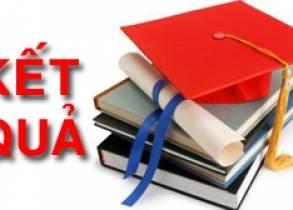 Công bố dự thảo kết quả đánh giá rèn luyện sinh viên hệ chính quy Học kỳ 2 năm học 2016_2017