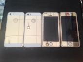 Kính cường lực màu 2 mặt màu iPhone 5