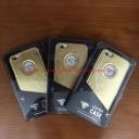 Ốp lưng da viền đính đá SHENGO iPhone 6 Plus