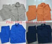 Quần áo BHLĐ công nhân thường