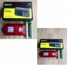 Loa cắm usb, thẻ nhớ K51 2 pin 2200mah
