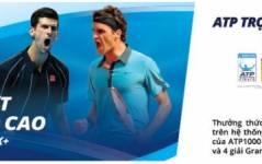 Giải Ten Nis ATP trong mùa giải 2016-2018 độc quền trên k+
