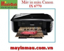 Máy in phun màu Canon Pixma IX6770
