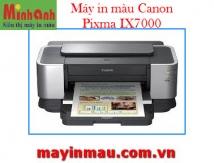 Máy in Phun màu Canon IX 7000 in mạng không dây - 6 mầu mực, Khổ A3