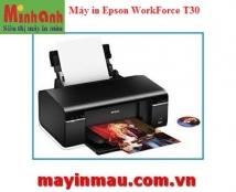 Máy in phun màu Epson WorkForce T30 (máy không mực - dùng lắp dẫn mực ngoài)