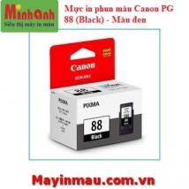 Mực in phun màu Canon PG 88 (Black) - Mực đen