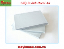 Giấy in ảnh decal A6